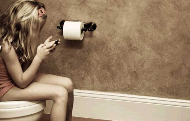 iPhonebathroom